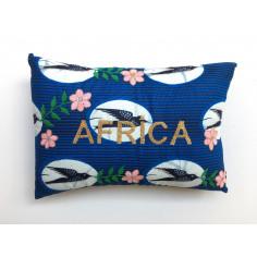 Coussin brodé AFRICA - Edition Limitée Internet