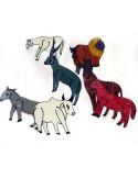 mobile-fer-peint-animaux